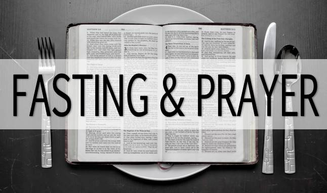 A Season of Fasting and Prayer