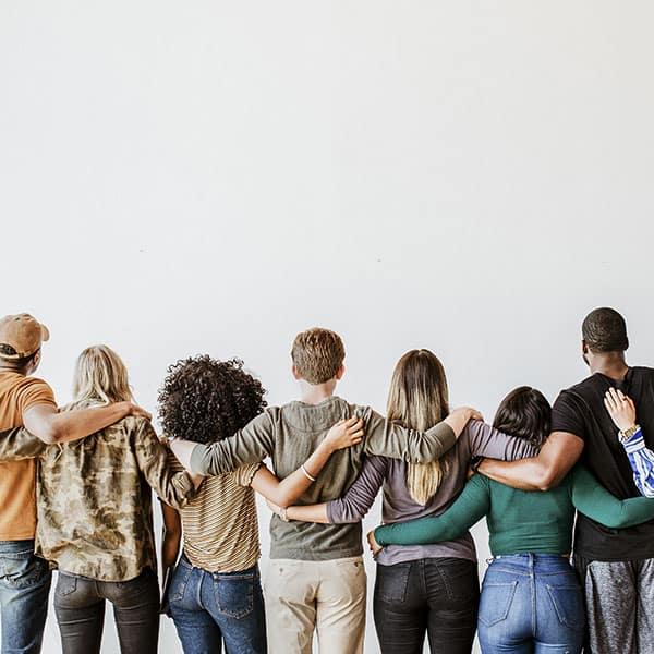 diversity, people, hugs,